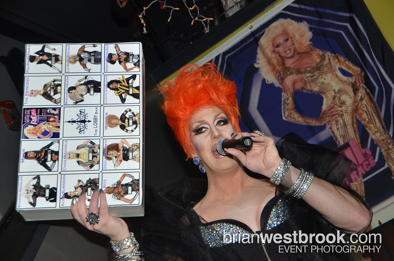 RuPaul's Drag Race Season 4 debuts at The Lobby Bar in Seattle, Washington. Sponsored by ABSOLUT and featuring drink specials and fun prizes and giveaways with hostesses GLAMAZONIA & Lily Armani.