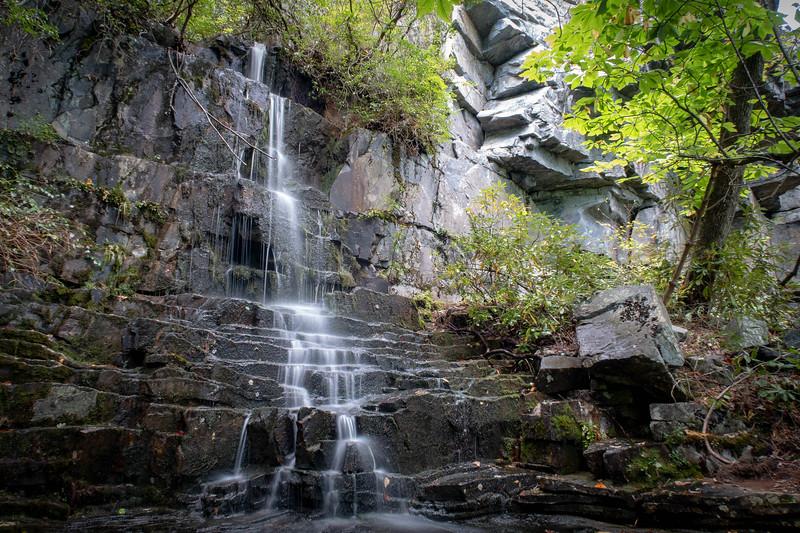 Secret Wall (Still) Falls, Burke County (9-22-18)