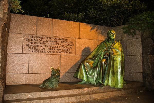 Franklin Roosevelt Memorial