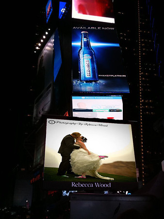 My photos in Times Square