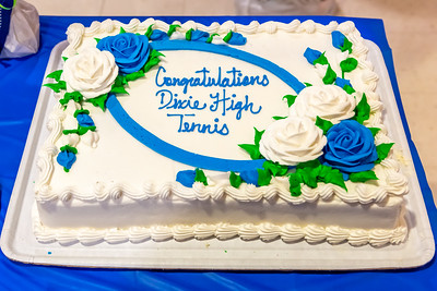 2019-11-13 Dixie HS Girls Tennis Awards Banquet