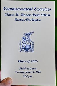 Hazen 2016 - Graduation