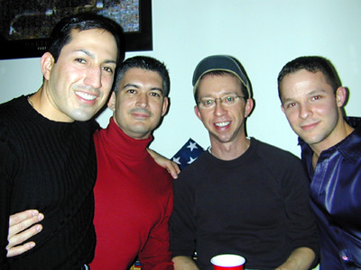 Patrick and his boys