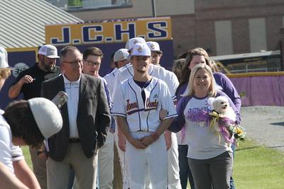 JCHS Baseball Senior Night 2021