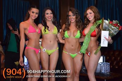 Green Bikini Contest & Magnum Mondays @ Suite - 3.17.14