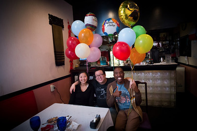 Esther & Ray's B-day 2012