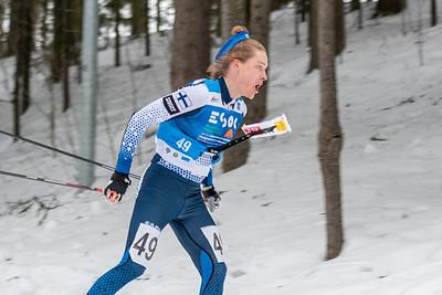EM-sprintti, 10.3.2020