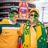 Green and Gold everywhere | 2015 Asian Cup Final Match | Australia vs South Korea | Stadium Australia | January 31, 2015 in Sydney, Australia