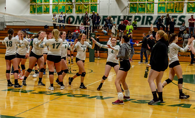 Set nine: Vashon Island High School Varsity Volleyball v Chimacum 09/20/2018