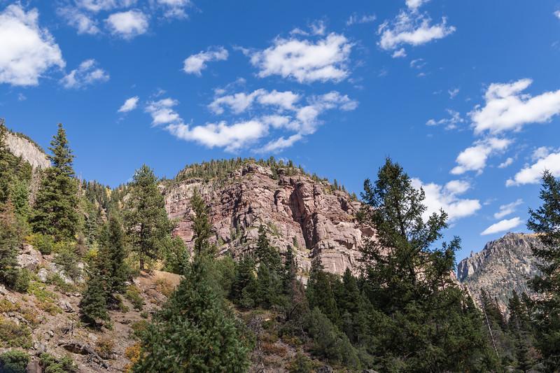 Ouray, CO - Box Canyon Falls