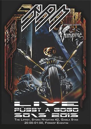 VAMPIRE - The Liffey 20/3 2013
