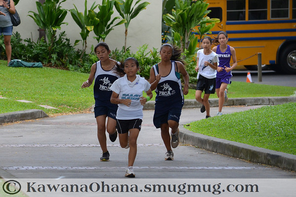 Punahou Invit Interm Cross Country 2012