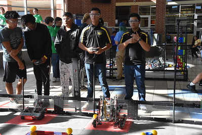 2018 Robotics at Cy Ranch HS.