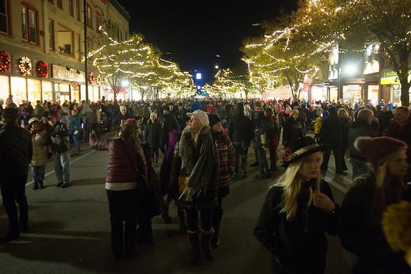 Light Parade and Holiday Tree Lighting