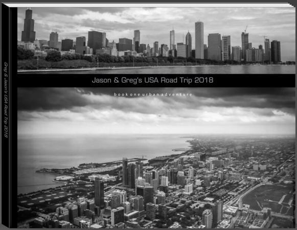 Jason & Greg's USA Road Trip Book One