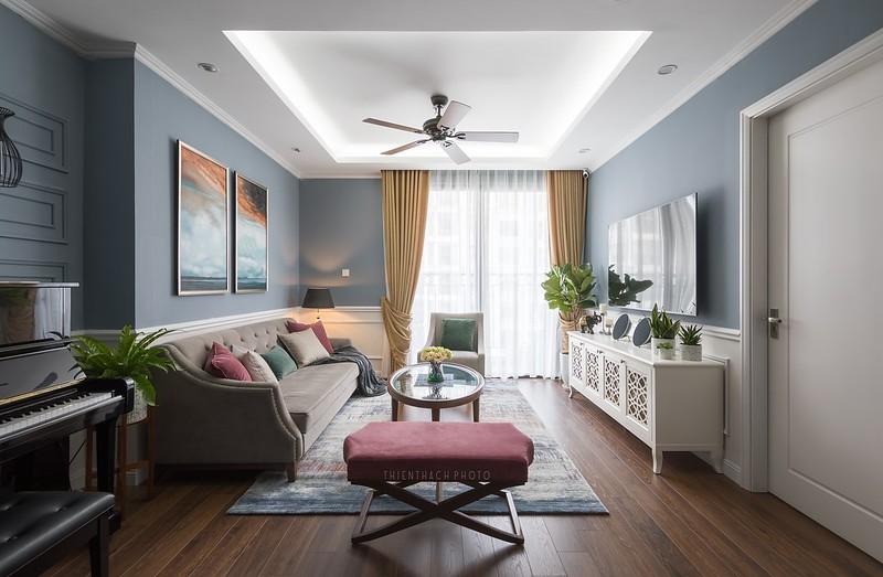 Times City Apartment Interior Design by Nội Thất Châu Á