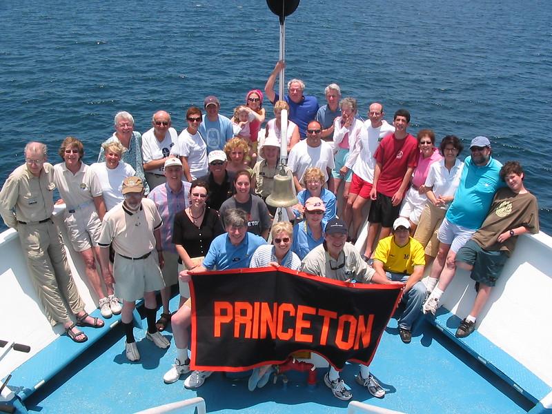 Princeton Group in the Galapagos - Kim Collins