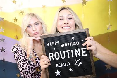 Routine Beauty's Birthday