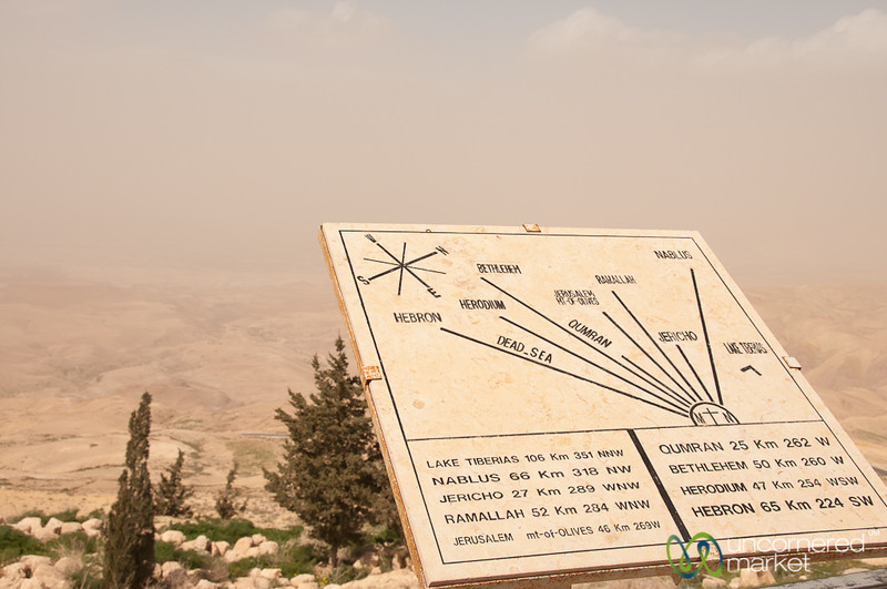 Looking Out from Mount Nebo, Jordan