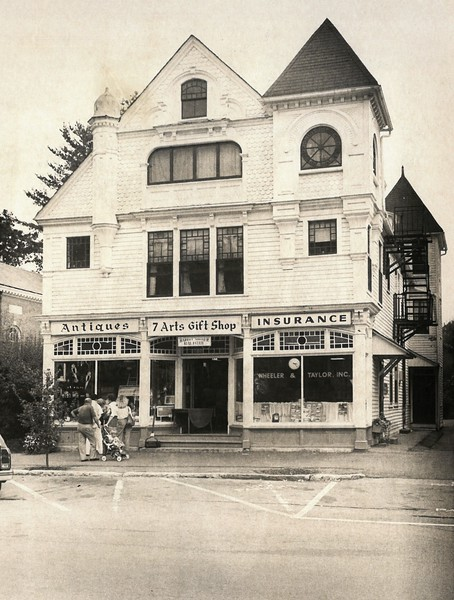 Historic Photos of Stockbridge businesses