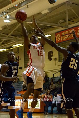 Freedom @ Boone Boys Varsity Basketball - 2012