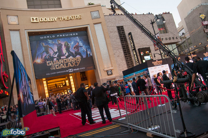 HOLLYWOOD, CA - JULY 21: Atmosphere at Marvel's 'Guardians Of The Galaxy' Los Angeles Premiere at the Dolby Theatre on Monday July 21, 2014 in Hollywood, California. (Photo by Tom Sorensen/Moovieboy Pictures)