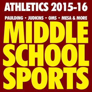 MIDDLE SCHOOL SPORTS 2015-16
