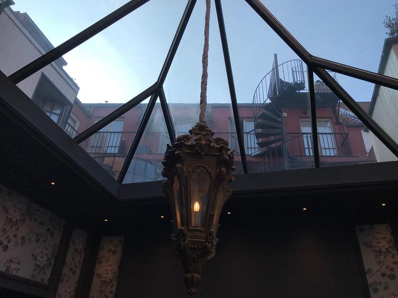 Atrium of the hotel