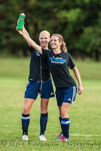 2012 PHS Girls Soccer vs FC