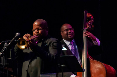 The Swing Jazz Series Presents : Terence Blanchard with John Brown's Big Band @ McGlohon Theatre 10-13-12 by Jon Strayhorn
