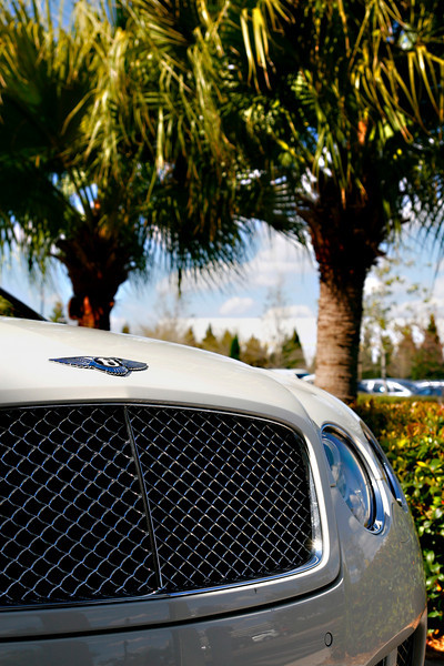 While on tour, the GWU students gawked over this, unknown to Boiling Springs, Bentley Continental parked outside of the International Plaza mall near Miami, Florida.