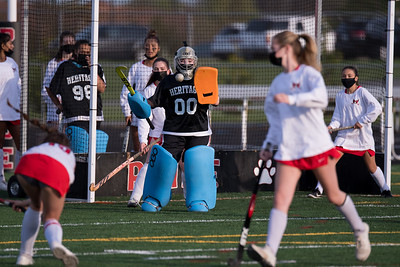 Field Hockey: Heritage 1, Broad Run 0 by Derrick Jerry on April 8, 2021