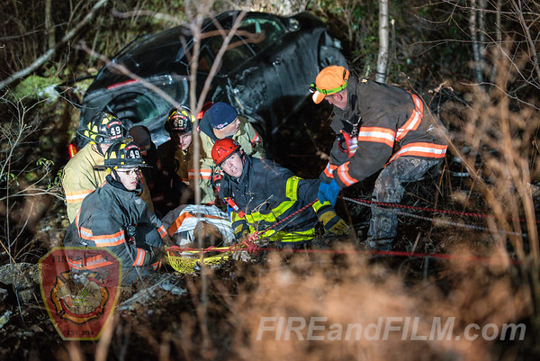 Schuylkill County - Kline Twp. - MVA w/ rescue - 12/12/2019