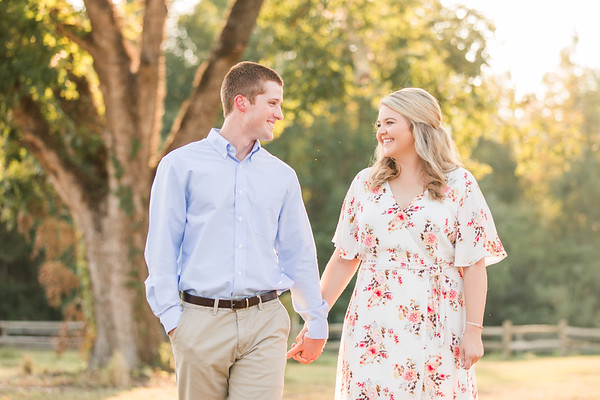 Dylan + Ashlyn  South Carolina Engagement Session