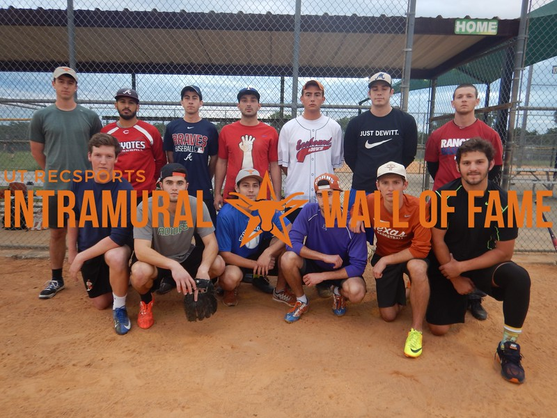 Spring 2016 Softball Men's Champion Hard Bats Soft Balls