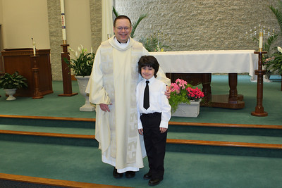 Andy's First Communion