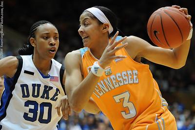 1/28/08 - NCAA Women: Duke Blue Devils vs Tennessee