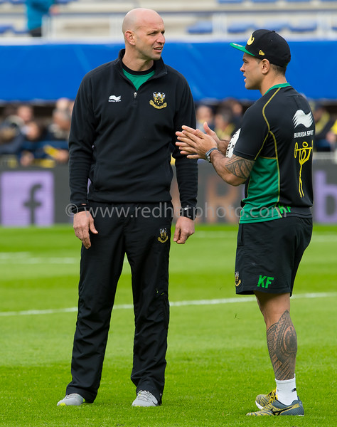 ASM Clermont Auvergne vs Northampton Saints, European Rugby Champions Cup, 4 April 2015