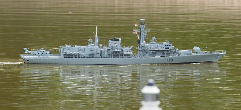 David McNair-Taylor, F229, HMS Lancaster, Navy Day 2017, SRCMBC, Setley Pond, Solent Radio Control Model Boat Club, Type 23 Frigate