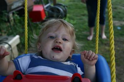 Logan Swinging