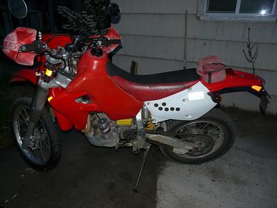 XR650R dual sported