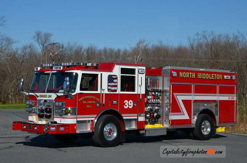 North Middleton Township Engine 1-39: 2015 Pierce Arrow XT 2000/1000/30A/30B
