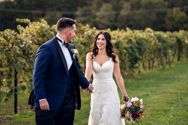 Jennifer and Stephen - First Look and Formals