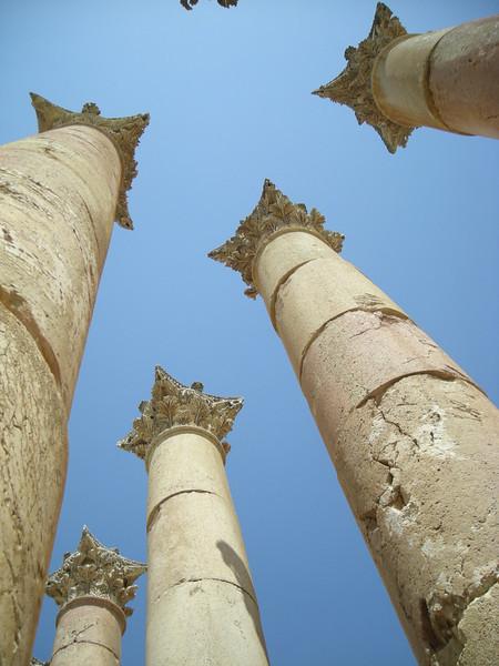 at the Temple of Artemis, Jerash, Jordan