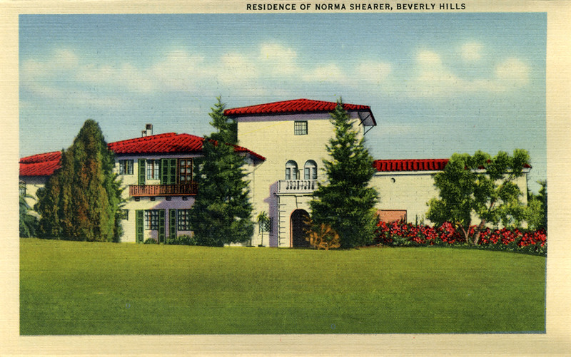 Residence of Norma Shearer