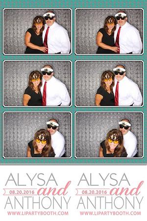 Alysa & Anthony Wedding 8/20/16