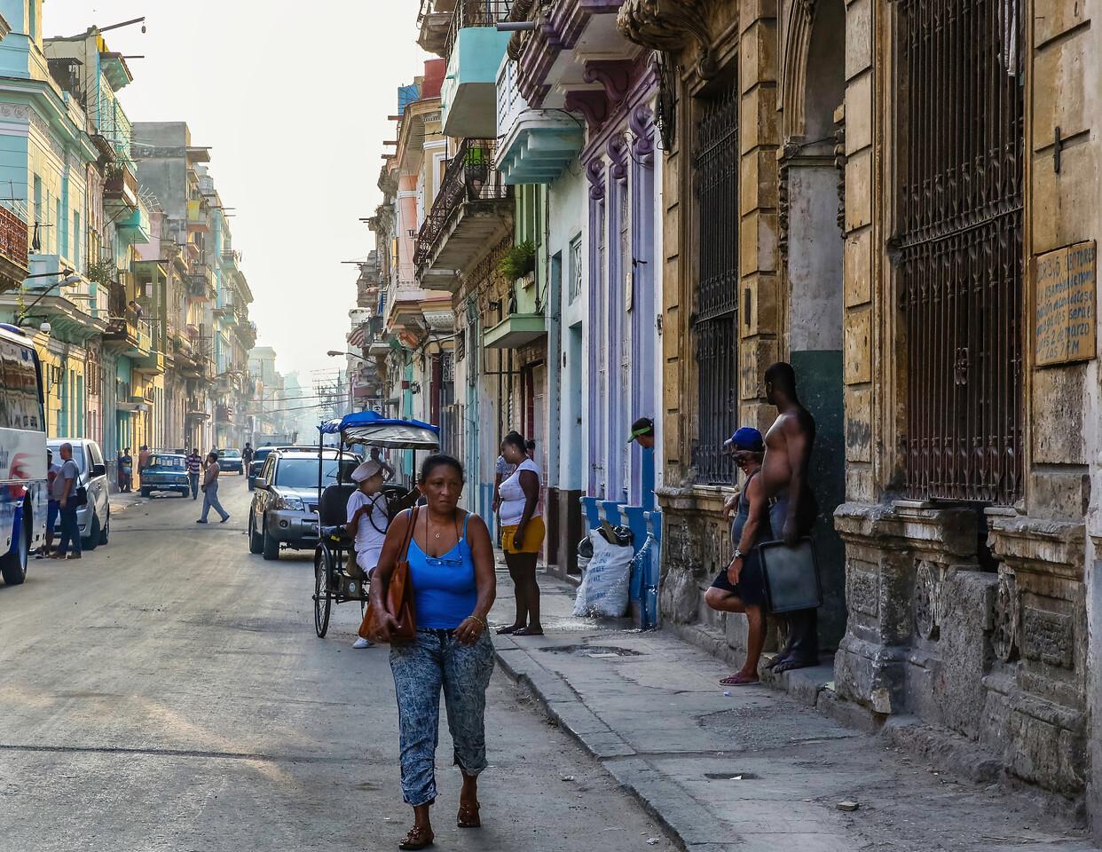 Late Afternoon Havana Streets