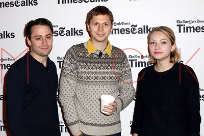 """NEW YORK, NY - NOVEMBER 14:  An Evening With The Cast Of """"This Is Our Youth"""" at Times Center on November 14, 2014 in New York City."""