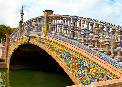 Spanish Bridge - Seville, Spain