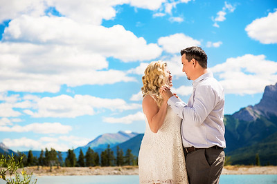 Rhonda and Less Engagement session Canmore